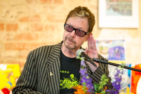 It's all cosmic theater: Tom Robbins in WNC
