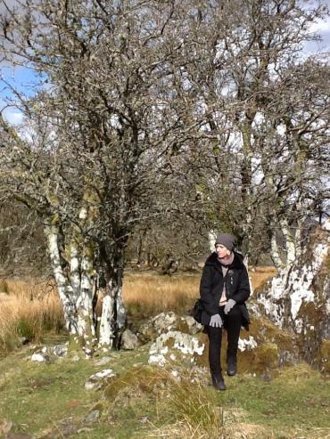 A rare sunny moment in western Scotland, 2013