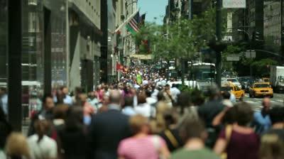 Virtual city walk