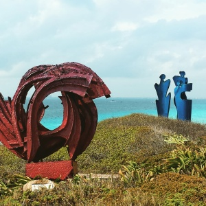 Sculpture park at Punta Sur, Isla Mujeres, Mexico