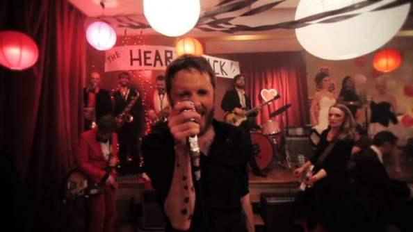 Lovett in a still from his music video for