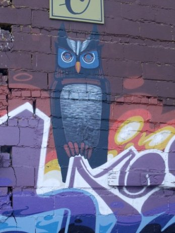 Mural on Lexington Ave., Asheville, 2011