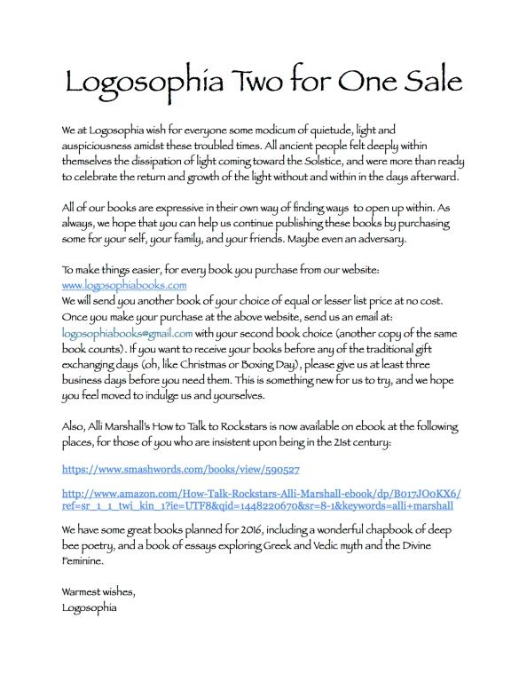 Logosophia Sale